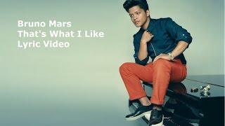 [Lyric Video] -Bruno Mars-That's what i like (24K MAGIC)
