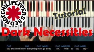 Como tocar Dark Necessities de Red Hot Chili Peppers en Piano/ Piano Rock Tutorial / MoroMusicPiano