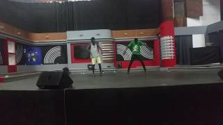 ALLO DANCERS REHEASAL WITH AWAL MOHAMMED AT TV3 STUDIO B