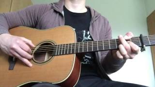 Once in a While (Acoustic) By Timeflies Guitar Cover