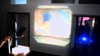 Extrawelt Bassvibes Lichtprojektion