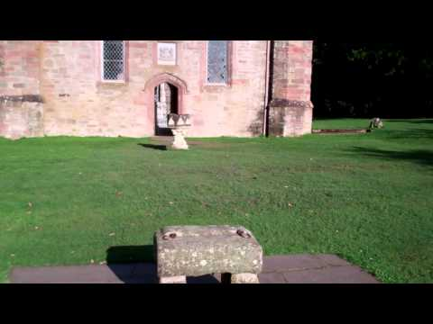 Stone Of Destiny Moot Hill Scone Palace Scotland