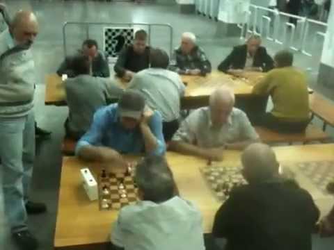 Chess Players on Kharkiv Metro