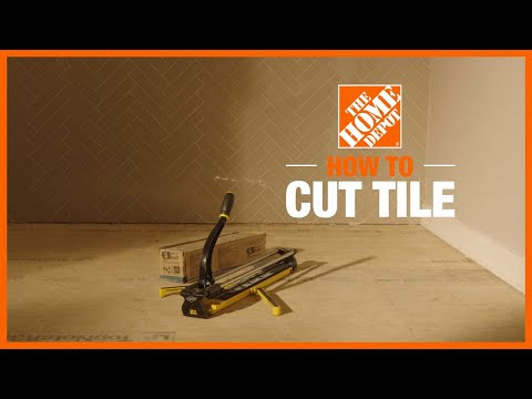 How to Cut Tiles