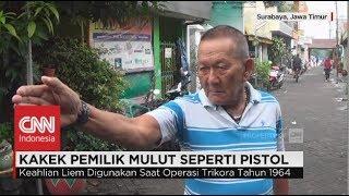 Sakti! Djoni Liem, Kakek Pemilik Mulut Seperti Pistol Layaknya Seorang Ninja