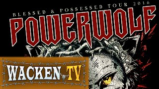 Powerwolf - Blessed and Possessed Tour 2016 Teaser