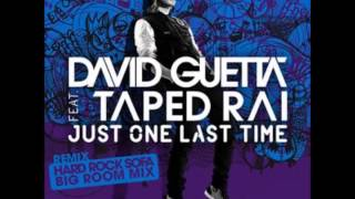 David Guetta - Just One Last Time ft. Taped Rai lyrics HQ