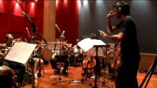 Hay Dias - Miguel Bose y Alejandro Sanz - Nicolas Sorin dirigiendo las cuerdas