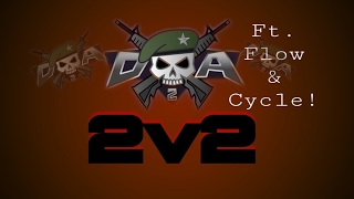 Pro 2v2 Ft. Flow & Cycle [Doodle Army 2: Mini Militia] [WATCH TILL END]