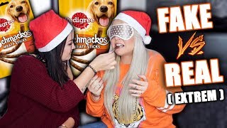 Fake vs Real Food EXTREM | Hundefutter essen BAHHH Ekelhafff | Jennys strange World