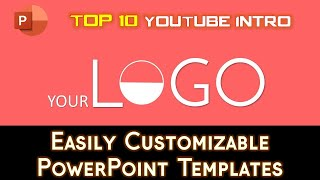 Top 10 Best Free 2D Youtube Intro Templates | PowerPoint 2016 Templates