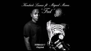 """FEEL"" Kendrick Lamar ft Miguel Manu Instrumental Cover improvisation"