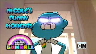 The Amazing World Of Gumball | Nicole's Funny Moments