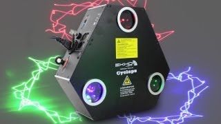 Ekho Cyclops RGB Laser Light DJ Party Professional Club Stage Effect