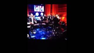 "Michael Bublé singing ""Who's Lovin' You"" on the Tonight Show"