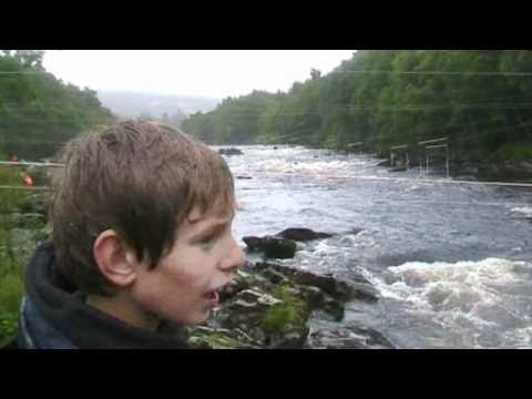 White water on the Tay