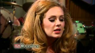 Adele sings acappella (Aired February 12, 2012)