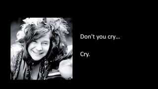 Janis Joplin- Summertime Lyrics
