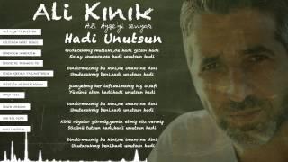 Ali Kınık - Hadi Unutsun ( Official Lyric Video )