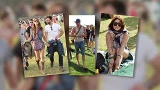 Celebrities Flock to Coachella Music Festival - Splash News | Splash News TV | Splash News TV
