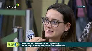 Entrevista coletiva do porta-voz da presidência, Otávio Rêgo barros