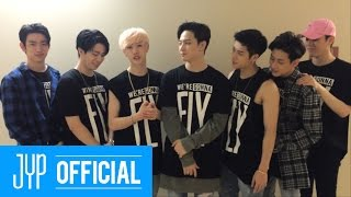 "GOT7's ""DAY6 First USA Fan Meeting"" Cheering Message"