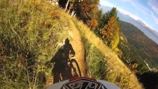 Downhill Race - col de l'arzelier - free contest dh - full  GoPro