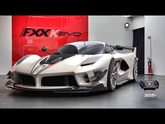 New Ferrari FXX-K Evo: The Ultimate Billionaire's Toy