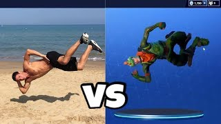 Fortnite Tänze in Real Life EXTREME | patroX