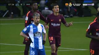 Ray Hudson's call of Philippe Coutinho's goal vs. Deportivo 2018.04.28