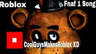 Five Nights at Freddy's 1 Song    Roblox    Sandbox