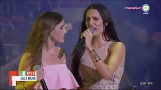 Soledad e  India Martínez - Zamba para olvidar en Villa María 2017