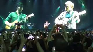 Shawn Mendes performing Mercy w/ Ed Sheeran - Barclays Center (Brooklyn) August 16, 2017