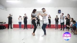 Daniel y Desiree - Master Class Bachateame Chile - Ephrem J Como Una Oración