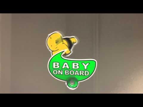 Fırsatcity Hareketli Baby On Board