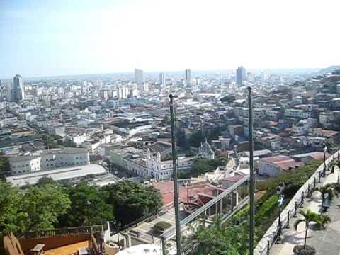 Guayaquil Ecuador Cerro Santa Ana
