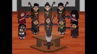 Black Spiderman - Logic - Pixel Art - Rajpal Rekhi