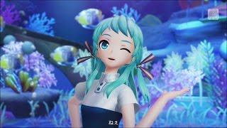 【初音ミク】ウミユリ海底譚【Project DIVA X HD】