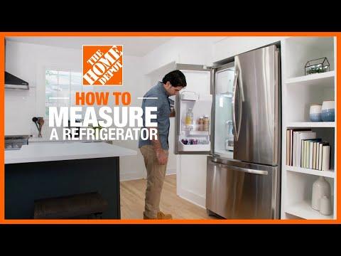 How to Measure a Refrigerator