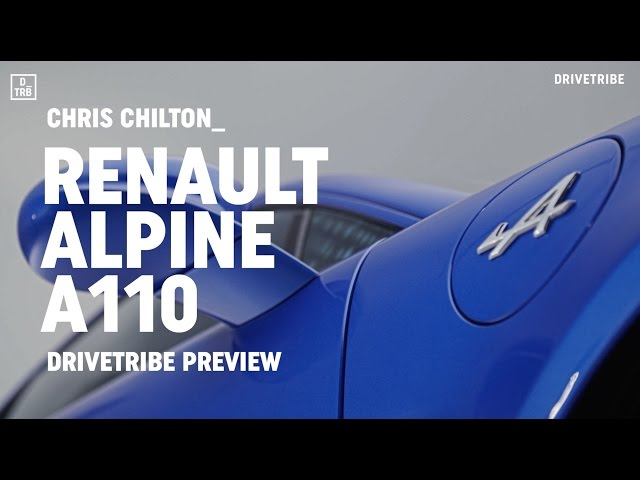 PREVIEW: Renault Alpine A110, the Porsche Cayman rival