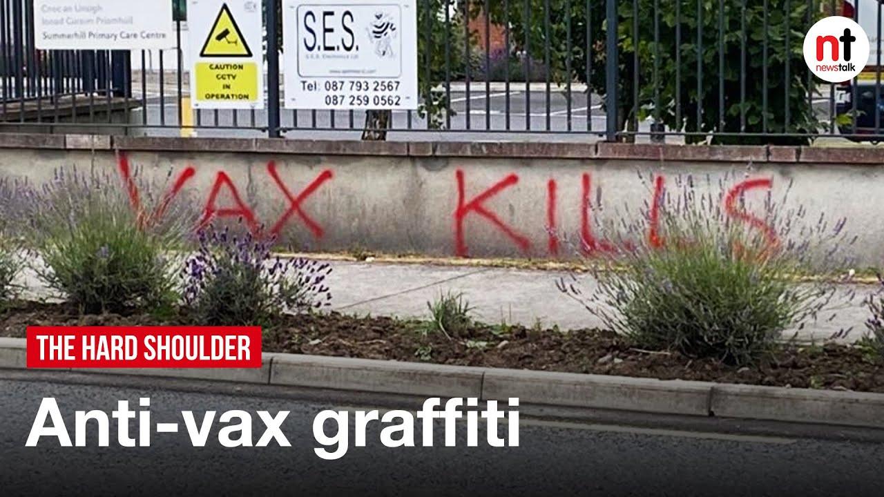 Gardaí Investigating 'Anti-Vax' Graffiti Scrawled outside Meath GP Clinic