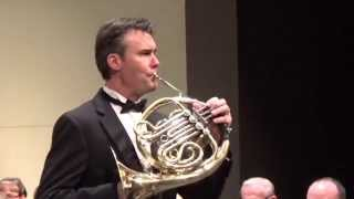 Gliere Horn Concerto - Andrew McAfee - 2nd cadenza of the day