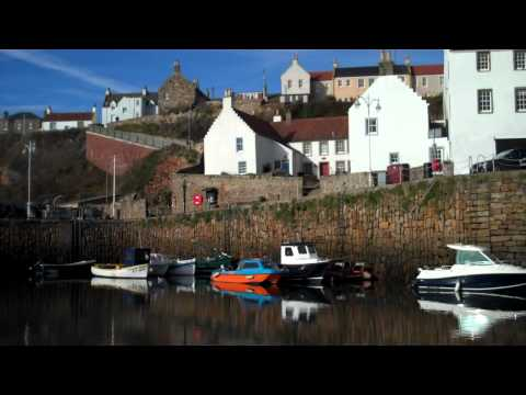 Autumn Harbour Crail East Neuk of Fife Scotland