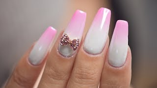 Pink White Ombre with Sponge | April Ryan | Red Iguana