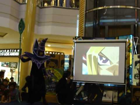 Copa Cosplay Vb2 2009 Miguel Giler y Maria Camoones (Dark Magician and Dark Magician Girl)