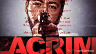 LACRIM Marabout Paroles Lyrics