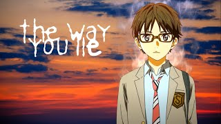 「AMV」 Shigatsu wa Kimi no Uso · The Way You Lie ᴴᴰ