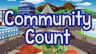 Community Count  | Count to 100 | Fun Counting Song for Kids | Jack Hartmann