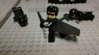 Lego Matrix Bullet Time
