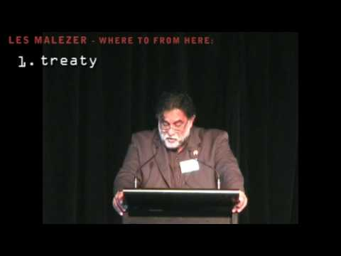 Les Malezer delivers the 2009 Mabo Lecture (excerpt)